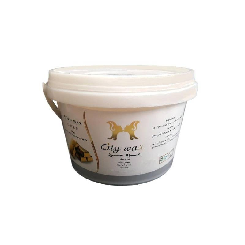 موم موبر سیتی وکس City Wax Gold حجم 4000 میلی لیتر