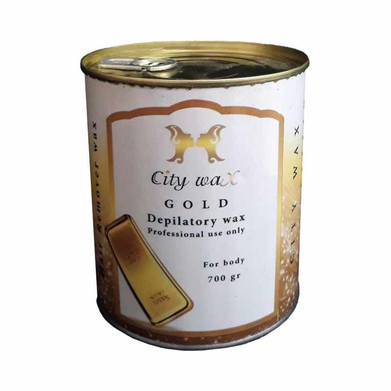 موم موبر سیتی وکس City Wax Gold مقدار 700 گرم
