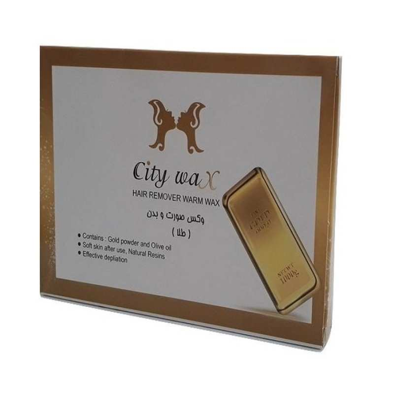 وکس موبر سیتی وکس City Wax Gold مقدار 500 گرم