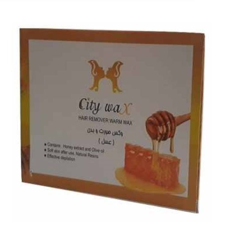 وکس موبر سیتی وکس City Wax Honey مقدار 500 گرم