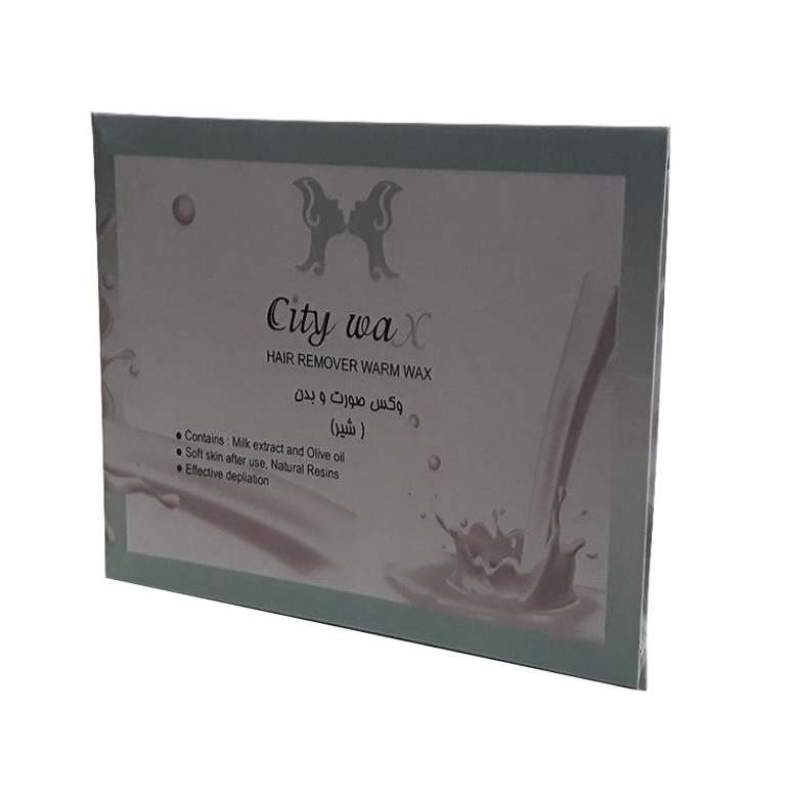 وکس موبر سیتی وکس City Wax Milk مقدار 500 گرم