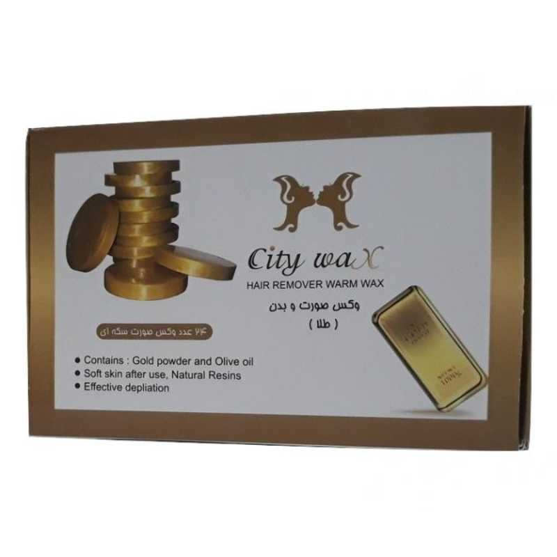 وکس موبر سیتی وکس City Wax Gold بسته 24 عددی